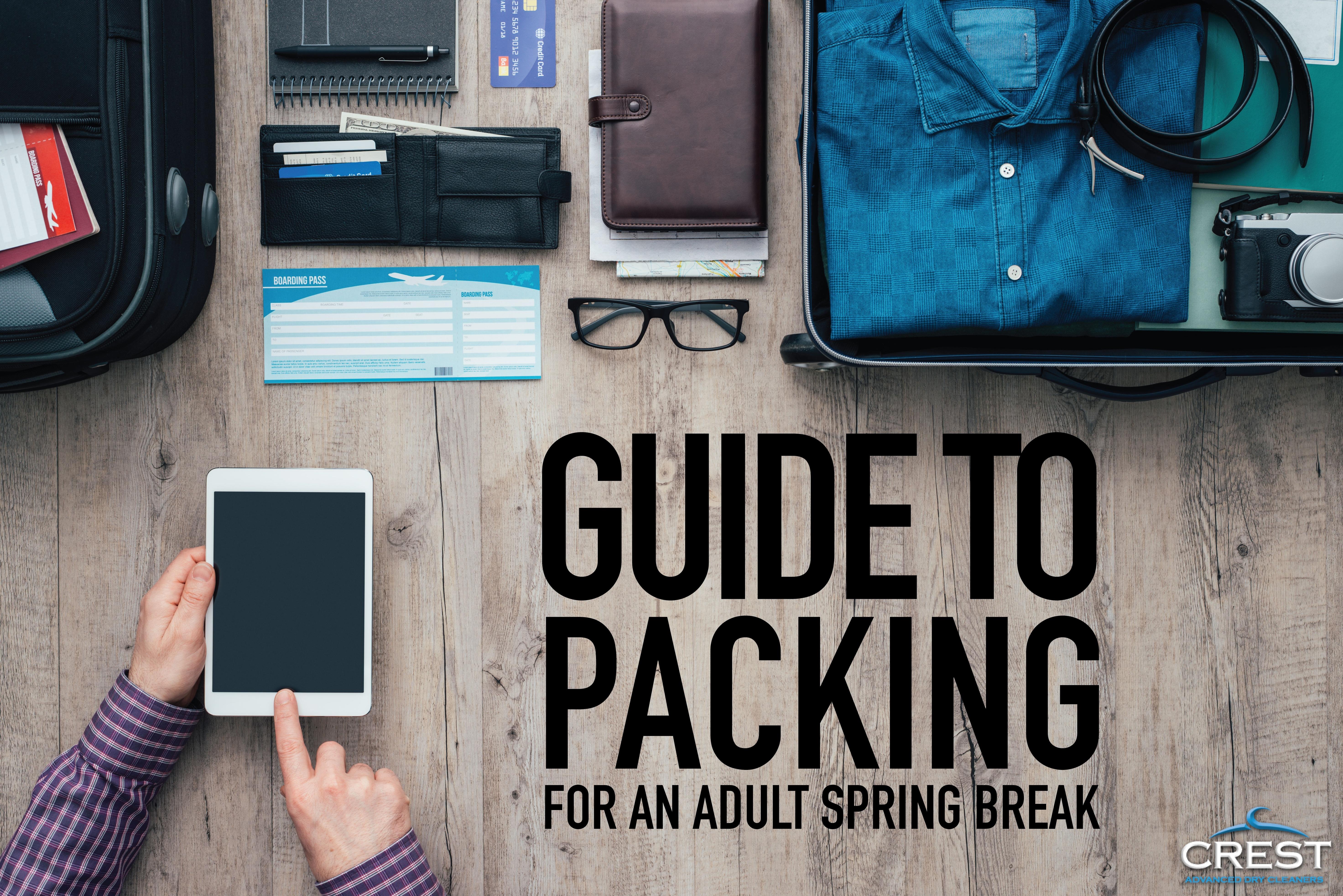 packing for adult spring break