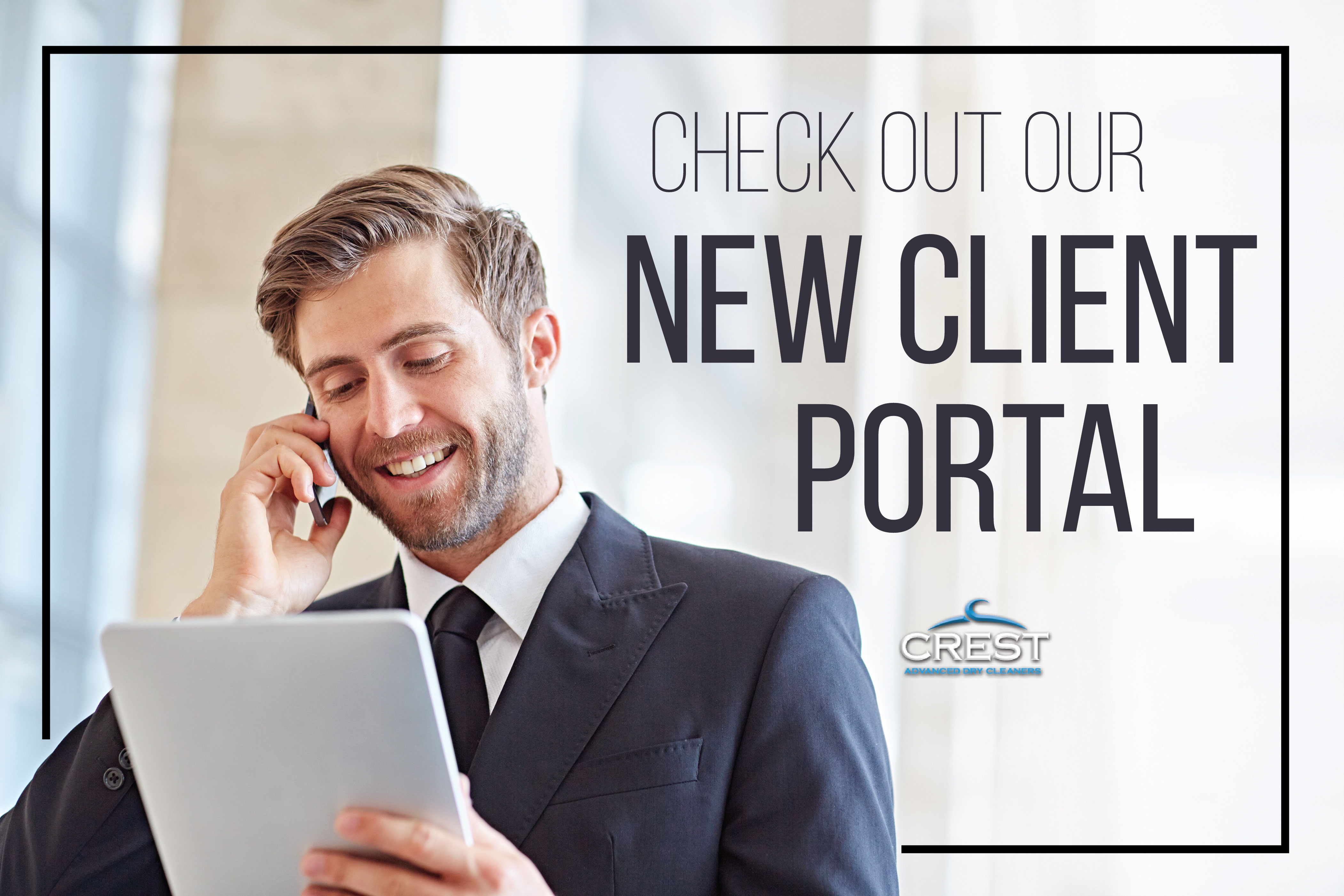client portal dry cleaners